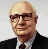 Paul Volcker, former head of the Federal Reserve Board