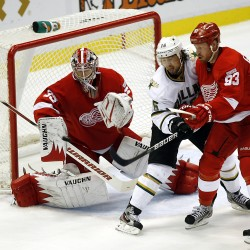 Wings' Howard, Nyquist headline list of ex-Black Bears in Stanley Cup playoffs