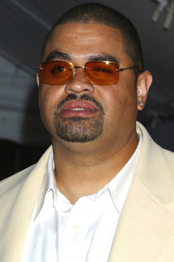 Heavy D, seen in this 2003 file photo, attends the grand opening of Jay-Z's 40/40 Club in New York City. The rapper was pronounced dead Tuesday, Nov. 8, 2011, at the emergency room at Cedars-Sinai Medical Center after collapsing outside his Beverly Hills home, authorities said.