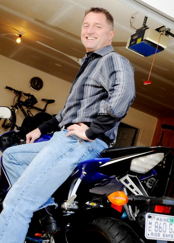 Former Auburn City Manager Glenn Aho has found a little more time to ride his motorcycle since being ousted by city councilors on Oct. 17.