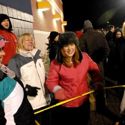 Sharp elbows: Shoppers scuffle on Black Thursday
