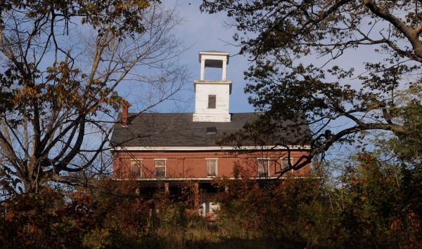 The Wilson Hall building of the former seminary in Bucksport is seen Nov. 1, 2011. Town officials are looking to give away the building to a developer that is willing to renovate the 160-year-old structure.