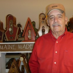 Falmouth birdhouse maker breathes new life into salvaged materials