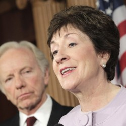 Collins joins Senate Democrat on new jobs bill, including tax on millionaires