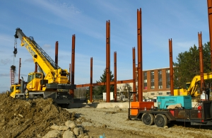 Husson University will hold a steel-raising ceremony Wednesday to mark construction of its Living and Learning Center.
