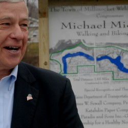 Millinocket names recreation trail after Mike Michaud
