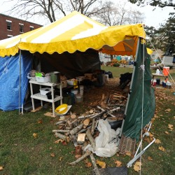 Occupy Bangor asked to remove tents from library property