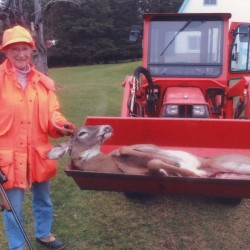 81-year-old woman spies deer from kitchen window, fills tag