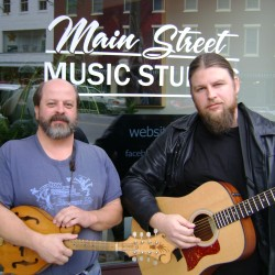 The Main Street 2, seen at their home base of Main Street Music Studios in Bangor.