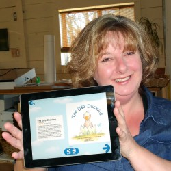 Glenburn cartoonist, daughter publish children's book