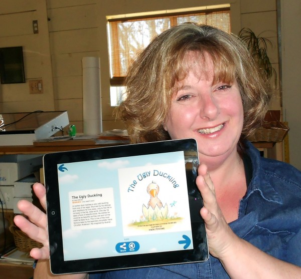 Detroit resident Hazel Mitchell's rendition of the Hans Christian Anderson fairy tale &quotThe Ugly Duckling&quot earned her first place in uTales' Classic Fairytale Competition recently.