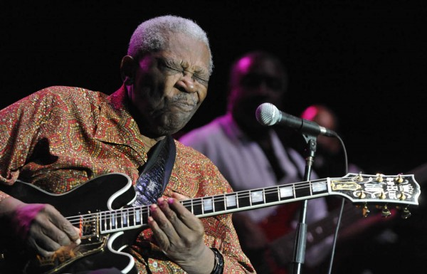 With the help of his hollow-body Gibson electric guitar, Lucille, renowned blues guitarist and Rock and Roll Hall of Famer B.B. King electrified the crowd on the Bangor Waterfront Saturday, Sept. 3, 2011.