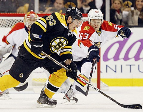 Marchand Leads Bruins To 8 0 Rout Of Panthers Ice Hockey Bangor