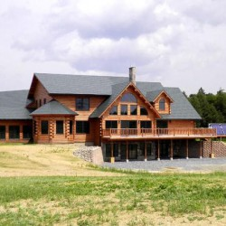 Log homes get a facelift as Oakfield company launches new take on traditional style