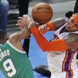 Pierce, Garnett help Celtics silence Anthony, Knicks