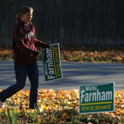 Placement of campaign signs can say a lot about a candidate's integrity