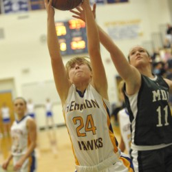 Raychel Alley helping Hermon Hawks girls basketball team soar