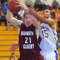 Veteran Thayer leads Hermon boys basketball team to prelim win over Presque Isle