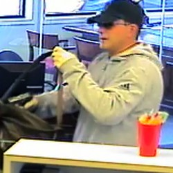Police still looking for Island Falls bank robber