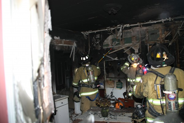 The Rockland Fire Department responded to a structure fire at 25 Talbot Ave. this evening at 8:15 PM. The Rockport Fire Department was called as mutual aide.