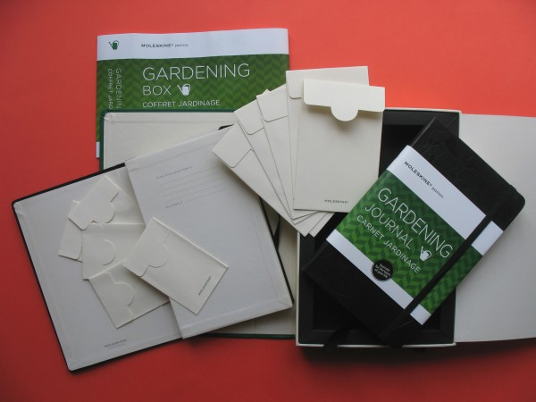 Your favorite gardener will appreciate the thoughtful Moleskine gardening gift box set that includes a gardening journal, memo pocket with six pockets and 12 seed envelopes to collect and exchange seeds, leaves and memories.