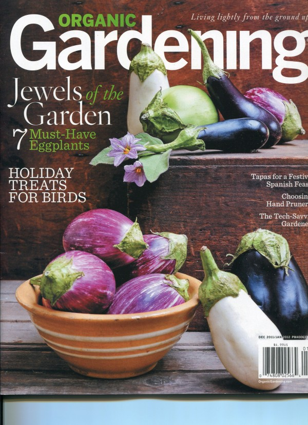 A subscription to Organic Gardening gives year-round.