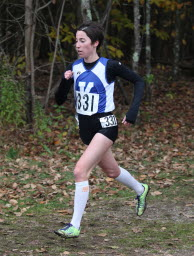 Abbey Leonardi of Kennebunkport finished fourth Saturday at the 2011 Foot Locker Cross Country Championships National Finals.
