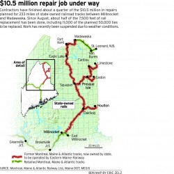 Operator chosen for northern Maine rail line