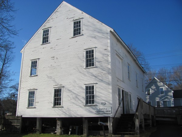 Maine Maritime Museum's 104-year-old Paint and Treenail building will be the subject of a project over the winter to shore up its support structure. The estimated $40,000 project will benefit from a $10,000 grant received recently by the Bath-based museum.