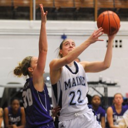 James Madison mauls University of Maine women's basketball team