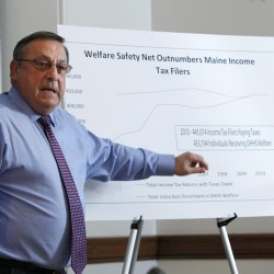 Maine lawmakers take up welfare changes in budget