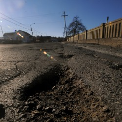 Waldo residents demand fix for road littered with thousands of potholes