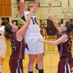 Shaw, Lewis rally MDI girls basketball to win over Hermon