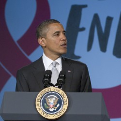 Obama vows renewed commitment on AIDS
