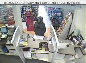 Police are looking for a woman who robbed Camden's Rite Aid on Wednesday afternoon.