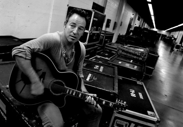 Bruce Springsteen, above in Baltimore in 2009, was inspired by the work of Dale Maharidge and Michael Williamson.
