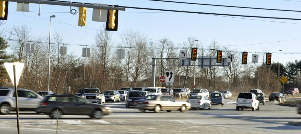 Analysis shows that traffic on Stillwater Avenue has been alleviated by the two I-95 on-off ramps.