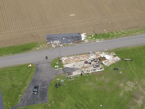 13. Four tornadoes touch down in Maine