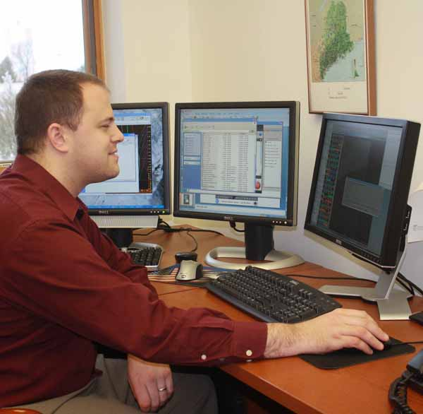 Charged with keeping forecasters equipped with the latest scientific advancements in forecasting, new Science and Operations Officer Todd Foisy has been at the technological helm of the National Weather Service's Caribou office since November.