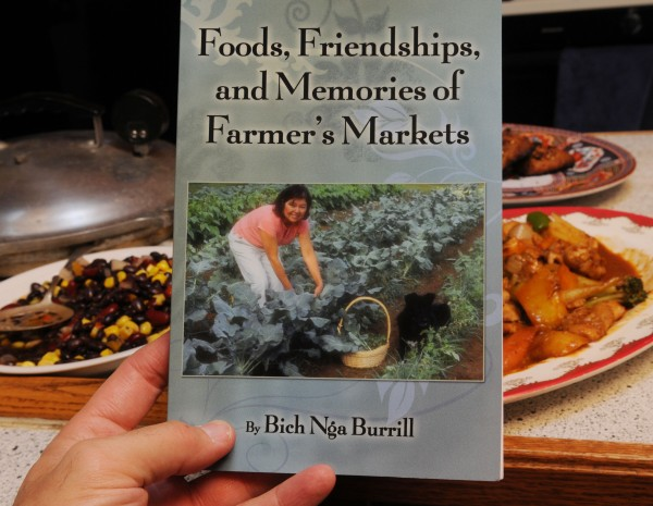 Bich Nga Burrill's newest cookbook, featuring recipes from Vietnam.