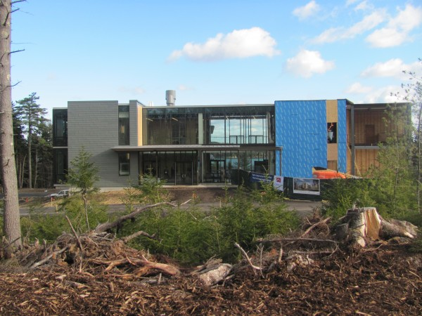The Bigelow Center for Blue Biotechnology in East Boothbay opened the first of three phases in its long-term project to create the new Ocean Science and Education Campus on Friday, Dec. 16, 2011.