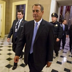 Obama, Boehner meet one-on-one to discuss 'fiscal cliff'