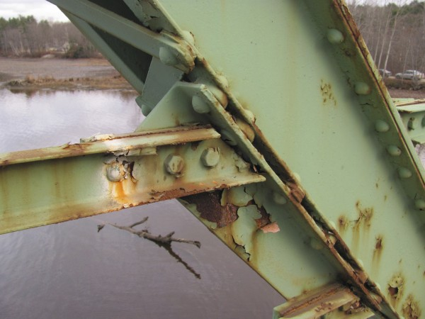 Corrosion and some 80 years of wear and tear have brought the heavily traveled Maine Kennebec Bridge between Richmond and Dresden to the point that it needs replacement. MDOT officials are hoping to do just that in the next few years if the state can secure $10.8 million in federal grant funding. The state would have to pay matching funds of at least another $13 million.