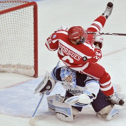 Sullivan, Pryor lead Maine past No. 2 BU for sweep