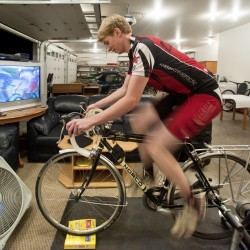 Inventor's seat takes the pain out of cycling