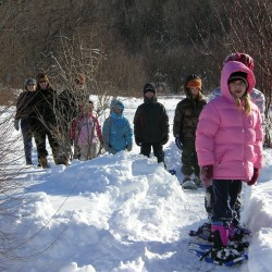 Snowshoe fun at FPAC!