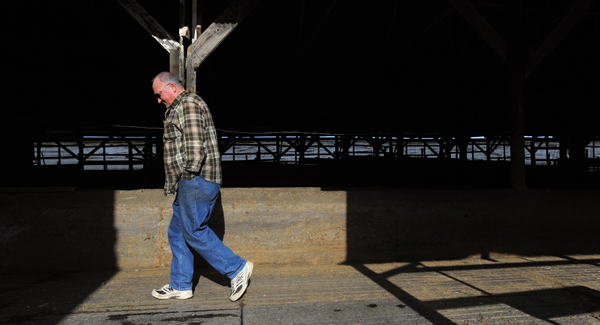 Adrian Pray, 72, of Bradford worked as a dairy farmer since 1964 when he bought a farm in town. Pray and his wife Valerie decided to retire and get out of farming but they sold some of their land to the Maine Farmland Trust.