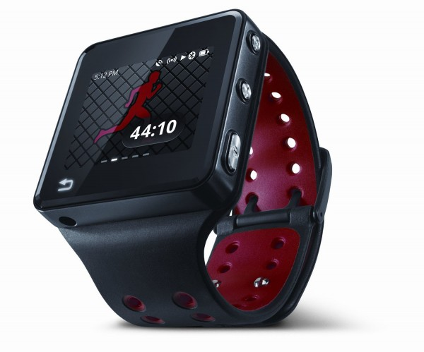 Motorola's new MOTOACTV fitness tracker and music player tracks the stats of your running, biking or walking workout (time, distance, speed, heart rate and calories burned) while also storing up to 4,000 songs.