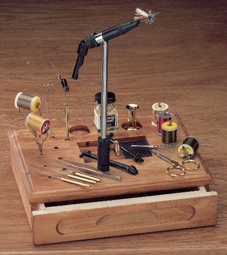 HMH SX vise ($130) or Cabela's Fly Tying Station ($79.99) is the perfect gift for the fly tier on your list.