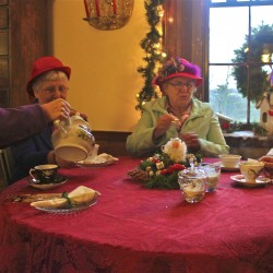 The Christmas goose is cooked at Woodlawn Museum's Victorian feasts